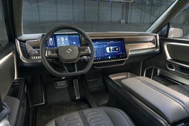 2020 Rivian R1T interior