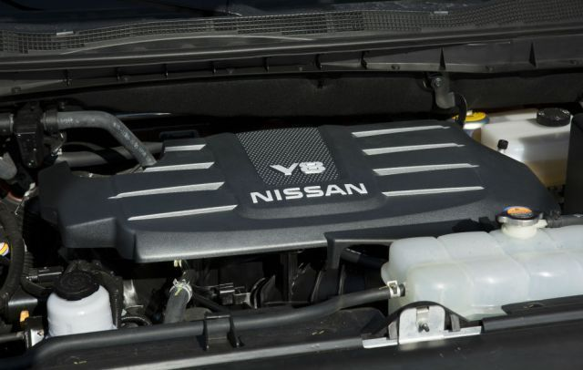 2020 Nissan Titan XD engine