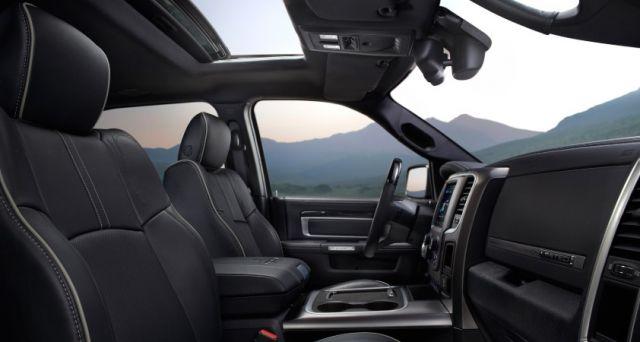 2020 Ram 1500 Diesel seats