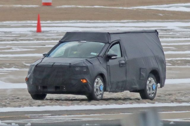 2021 Ford Courier Pickup Truck Spied, First Look - 2019 ...