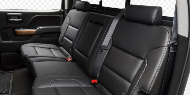 2020 Chevy Silverado 3500HD seats