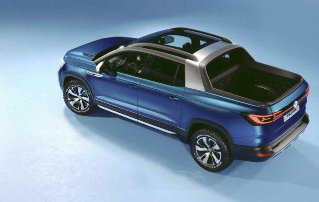 2020 Volkswagen Tarok rear
