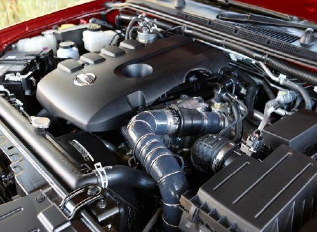 2021 Nissan Navara engine
