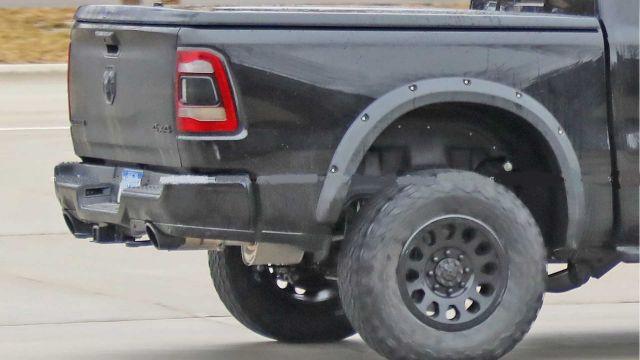 Ram Rebel TRX rear look