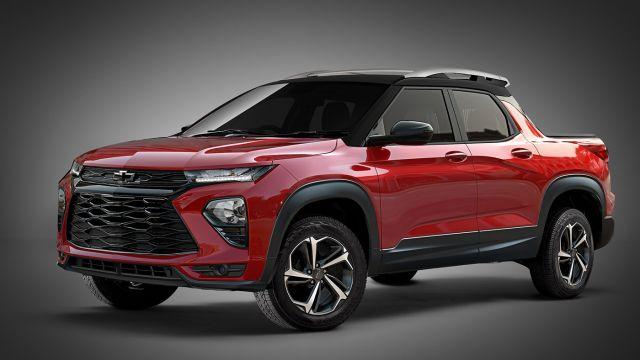 2020 Chevrolet Trailblazer front