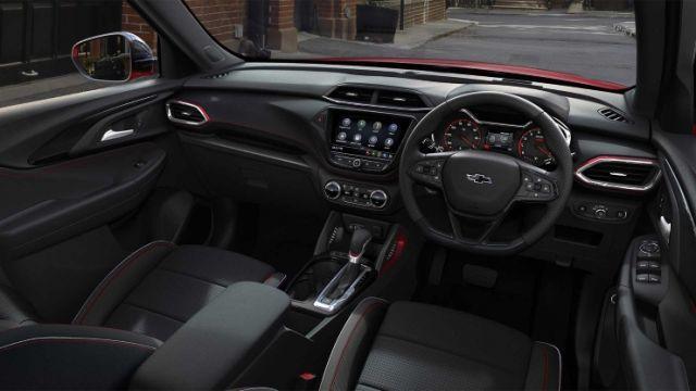 2020 Chevrolet Trailblazer interior