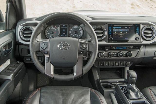 2020 Toyota Tacoma TRD Off Road interior