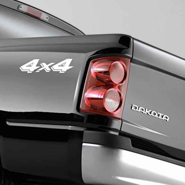2020 Dodge Dakota rear logo