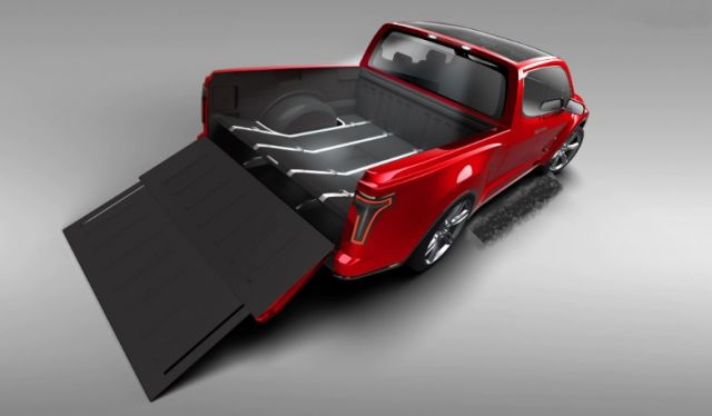 2020 Tesla Pickup Truck Bed
