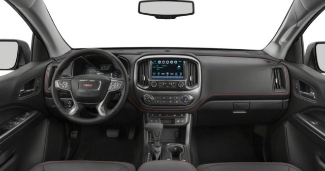 2021 GMC Canyon interior