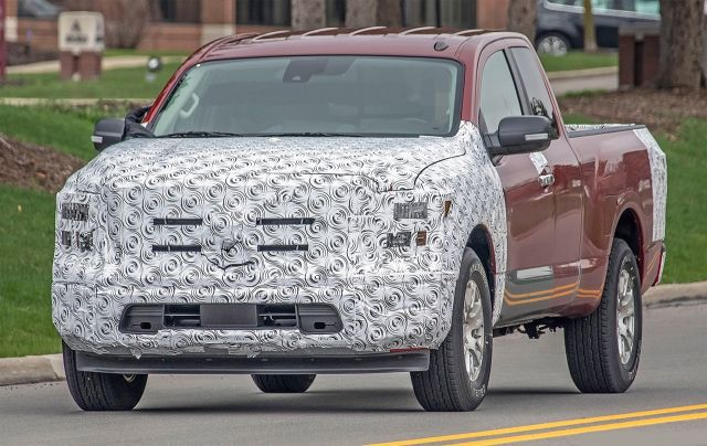2021 Nissan Titan First Spy Photos, News