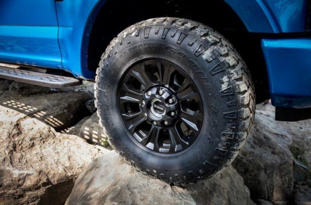 2020 Ford F-250 Tremor wheels