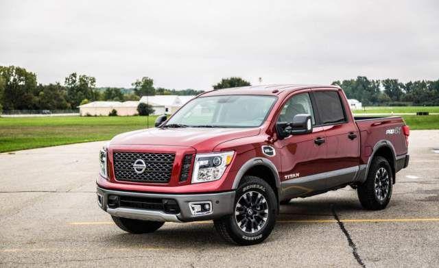 2020 Nissan Titan Pro 4x First Look