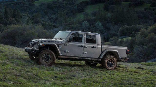 2021 Jeep Gladiator exterior