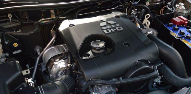 2021 Mitsubishi L200 engine
