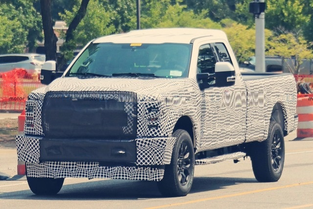 2021 Ford F-250 spy shots