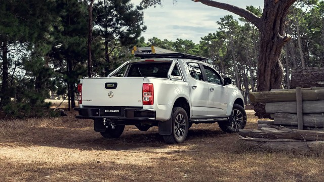 2021 Holden Colorado rear