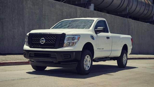 2021 Nissan Titan XD exterior