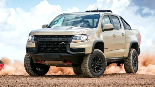 2021 Chevrolet Colorado ZR2 facelift