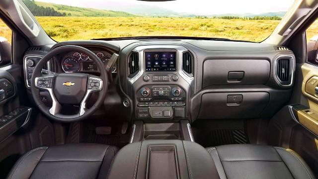 2021 Chevy Silverado ZRX interior
