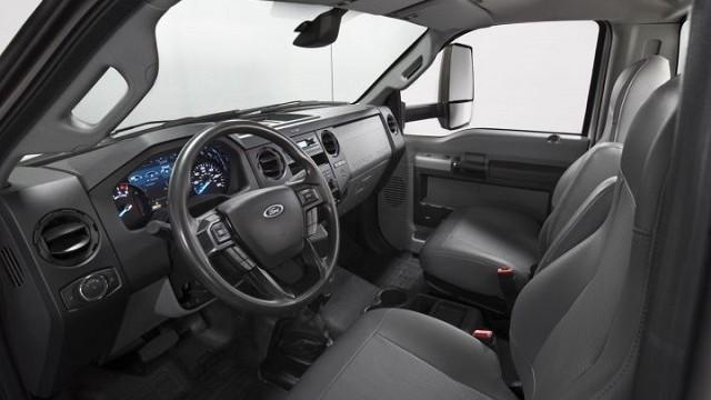 2021 Ford F-650 interior