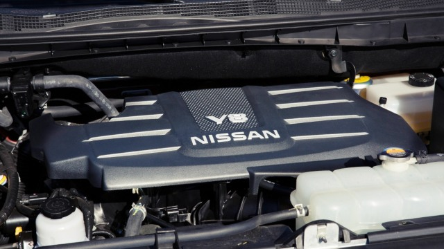 2021 Nissan Titan Warrior engine