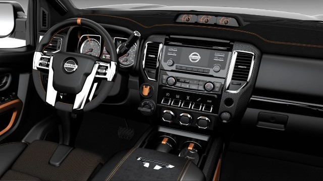 2021 Nissan Titan Warrior interior