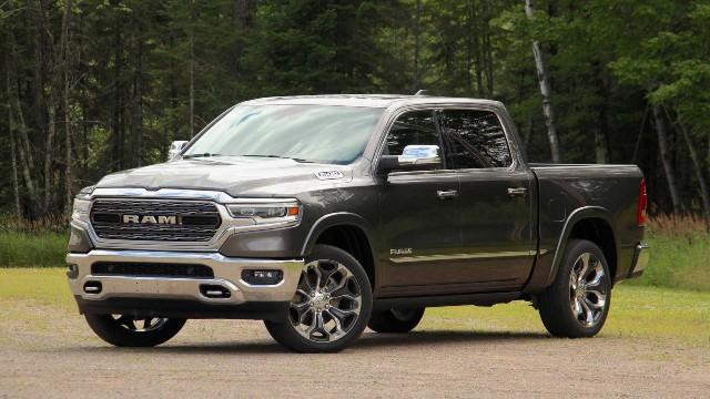 2021 Ram 1500 Diesel exterior