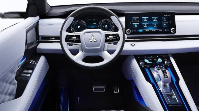 2022 Mitsubishi Triton interior