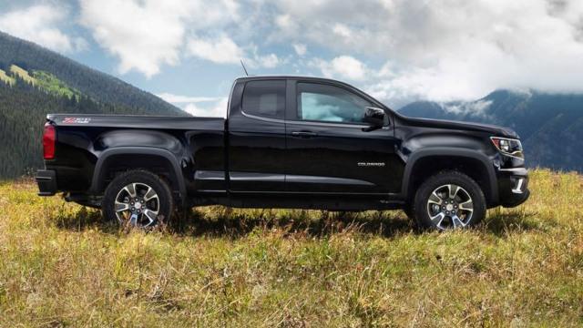 2021 Chevrolet Colorado z71 exterior