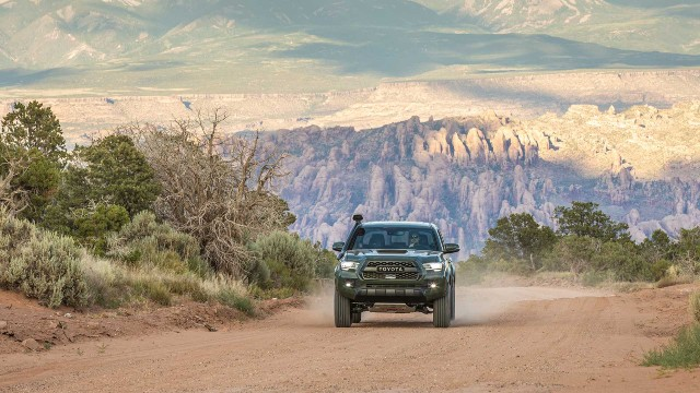 2021 Toyota Tacoma TRD Pro facelift