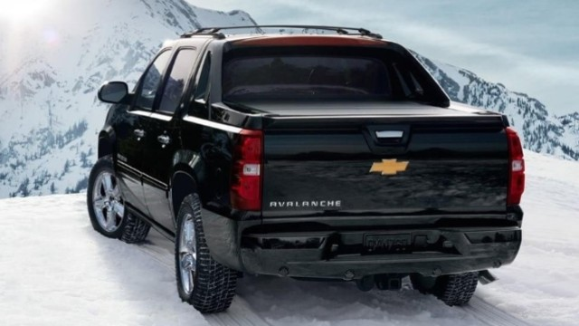 2021 Chevy Avalanche exterior