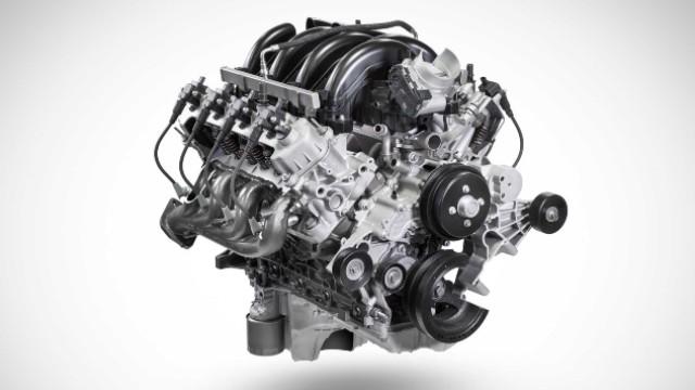 2021 Ford F-550 engine
