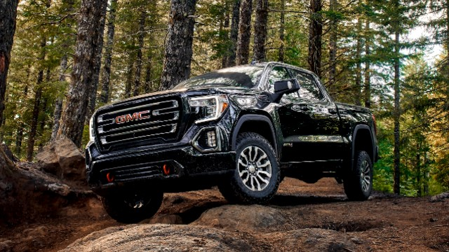 2021 GMC Sierra 1500 AT4 design