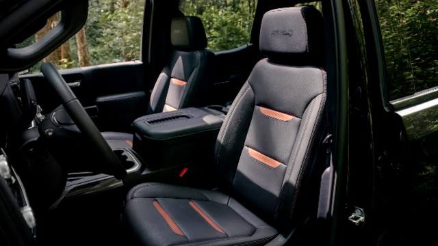 2021 GMC Sierra 1500 AT4 interior