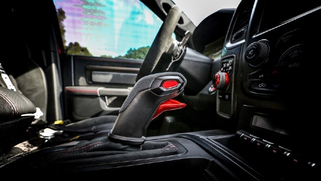 2021 RAM 1500 Rebel TRX interior