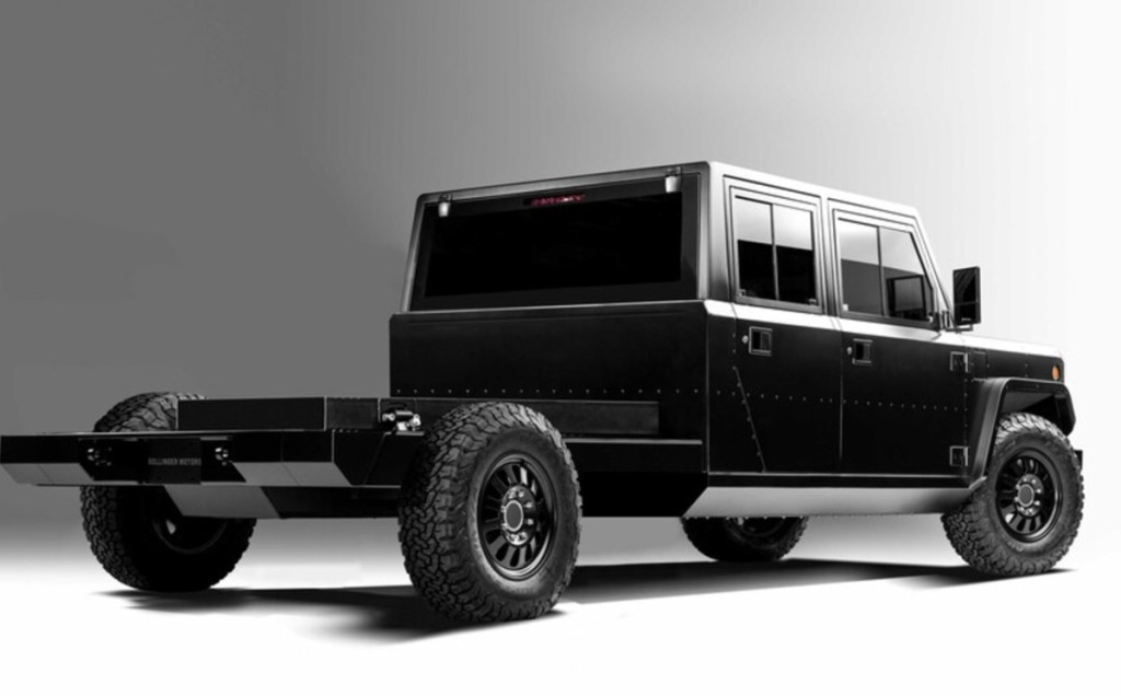 2021 Bollinger B2 Chassis Cab release date