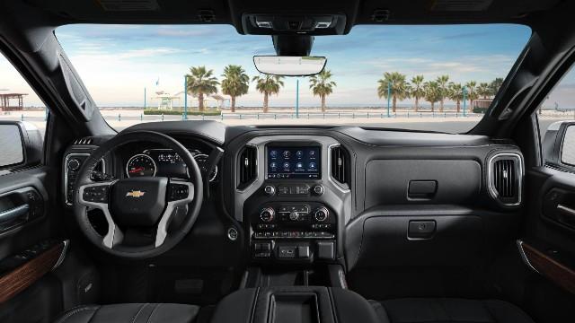 2022 Chevrolet Silverado 1500 ZRX interior