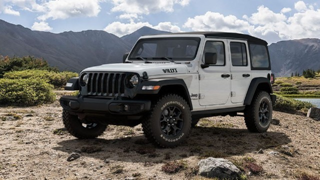 2021 Jeep Gladiator Willys Package Wrangler