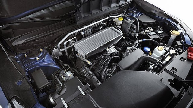 2021 Subaru Pickup Truck engine