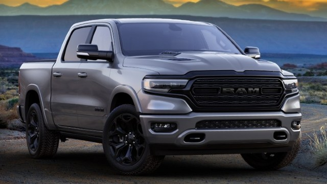 2021 Ram 1500 Limited Night Edition redesign