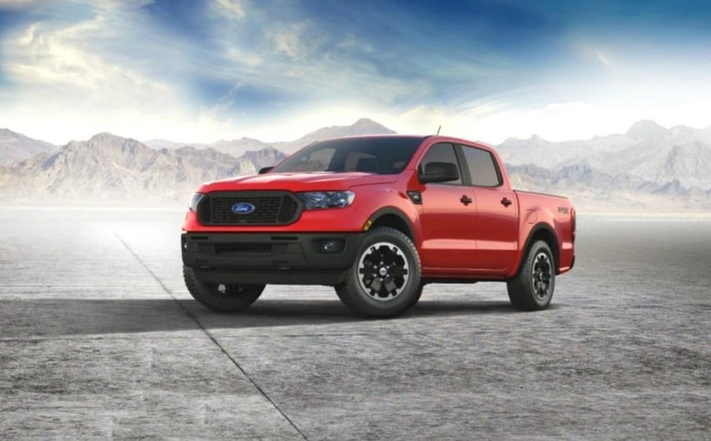 2021 Ford Ranger STX release date
