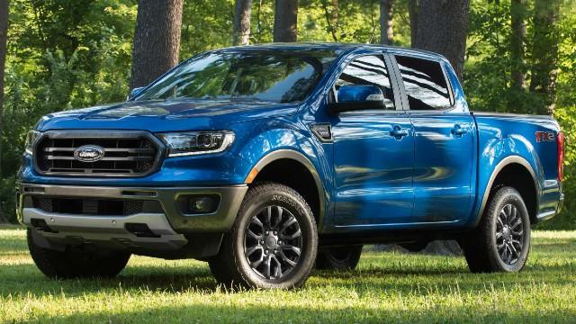 2021 Ford Ranger STX specs
