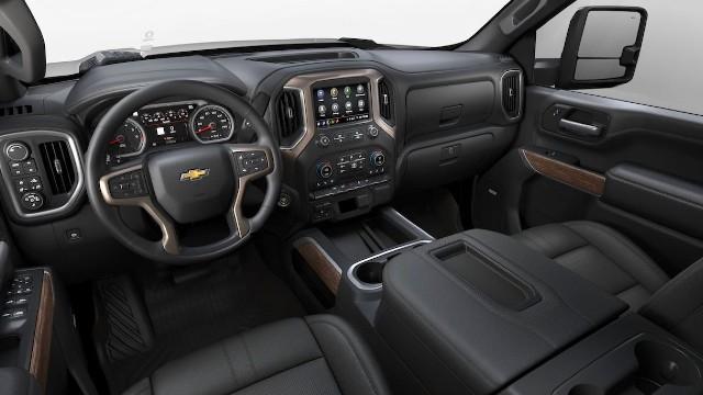 2022 Chevrolet Silverado HD interior
