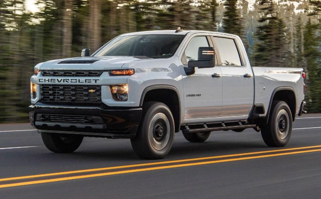 2022 Chevrolet Silverado HD release date