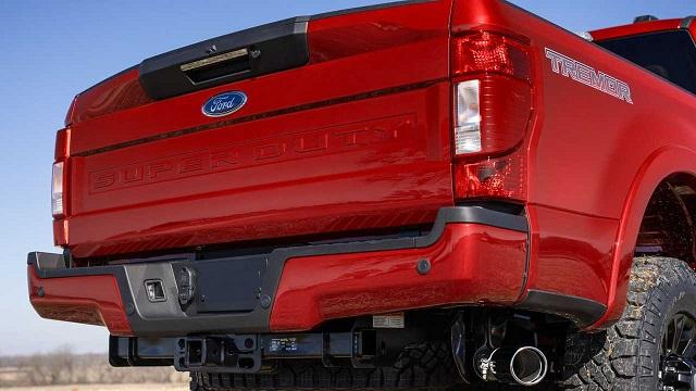 2022 Ford Super Duty rear