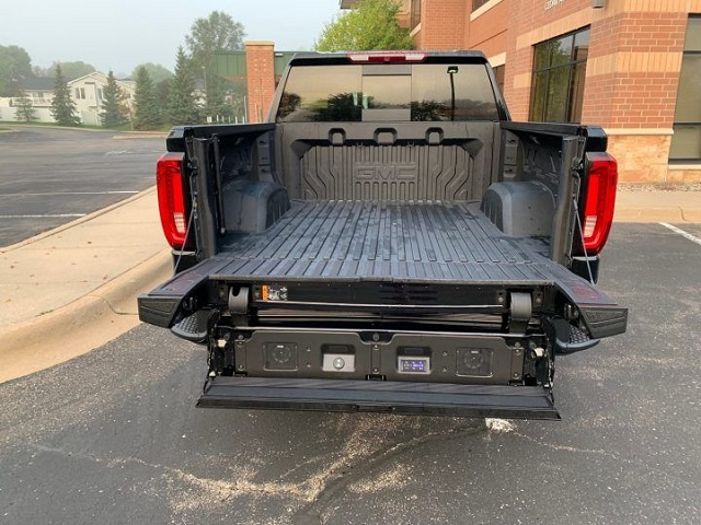 2023 GMC Sierra EV rear