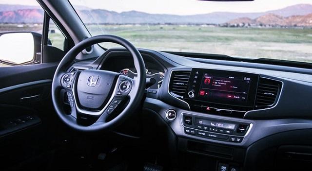 2023 Honda Ridgeline interior