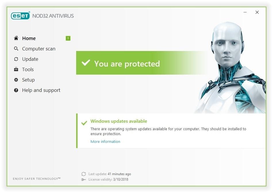 ESET NOD32 Antivirus full Crack + Serial Key Free ...