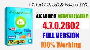 4K Video Downloader 4.8.0.2852 Crack With Keygen Download 2019